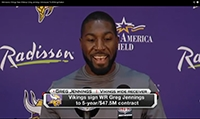 Greg Jennings Vikings Introduction